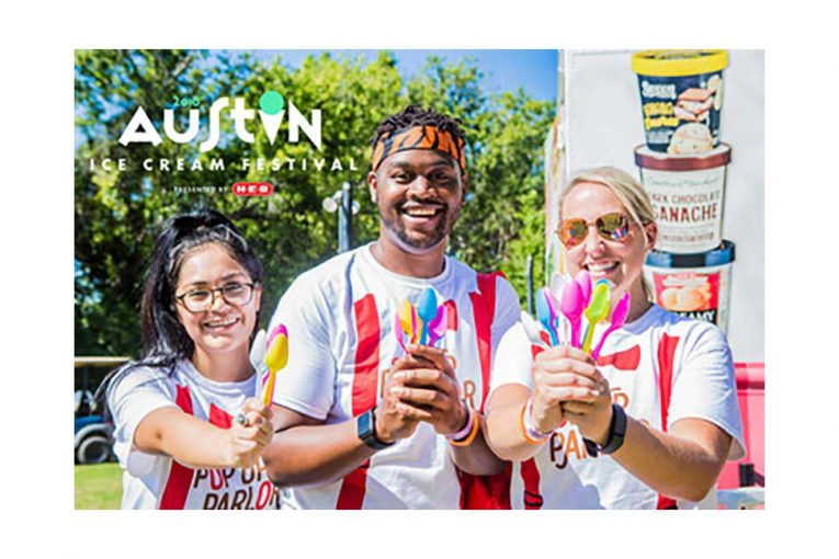 H-E-B is sponsoring the Austin Ice Cream Festival.