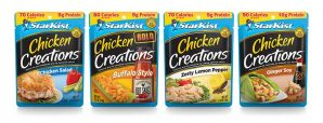 StarKist Expands Beyond Seafood With Chicken Creations Pouches