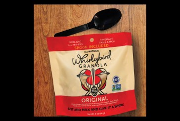 New Whirlybird Granola Bag Can Double As A Bowl, Features Collapsible Spoon