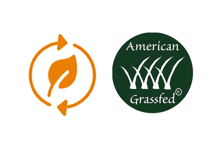 American Grassfed and Fuudchain logos