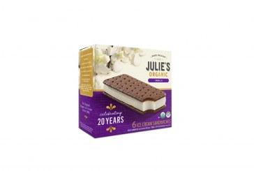 Julie's Organic Ice Cream Company Celebrates 20th Anniversary