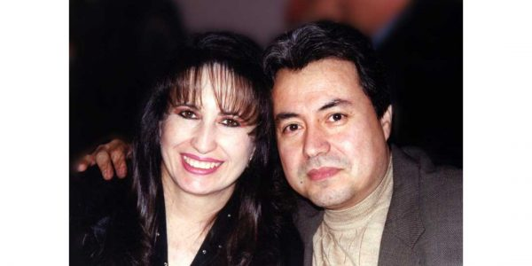 Veronica and Eduardo Moreno.