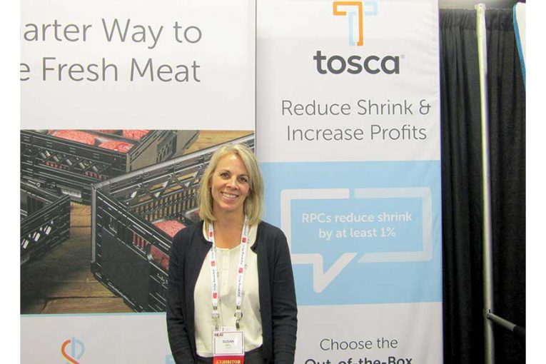 Susan Heil at the Annual Meat Conference in Nashville in February.
