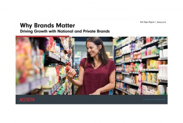 Acosta: Mix Of National, Private Label Brands Key To Retailer Success
