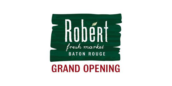 Robert Fresh Market grand opening banner
