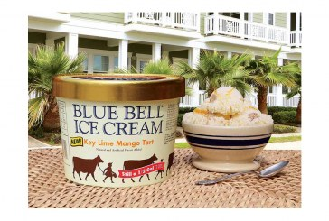 Blue Bell Introduces Key Lime Mango Tart Flavor