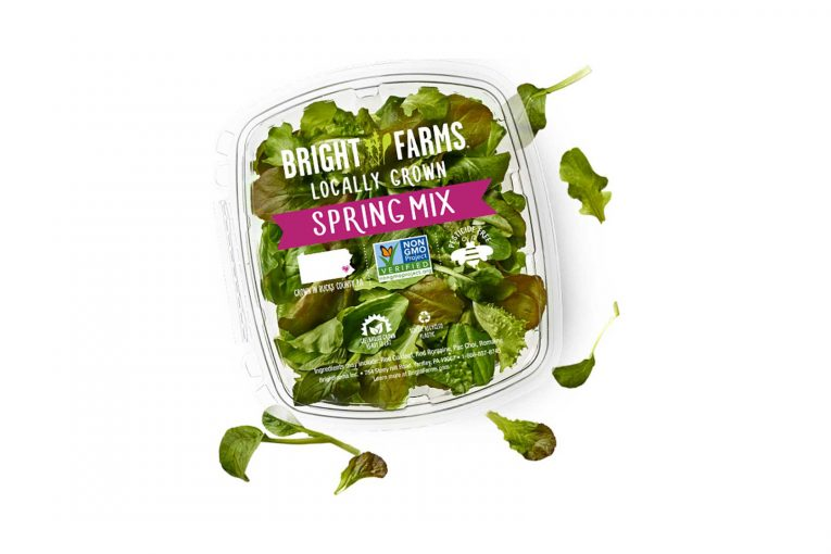 BrightFarms packaged salad