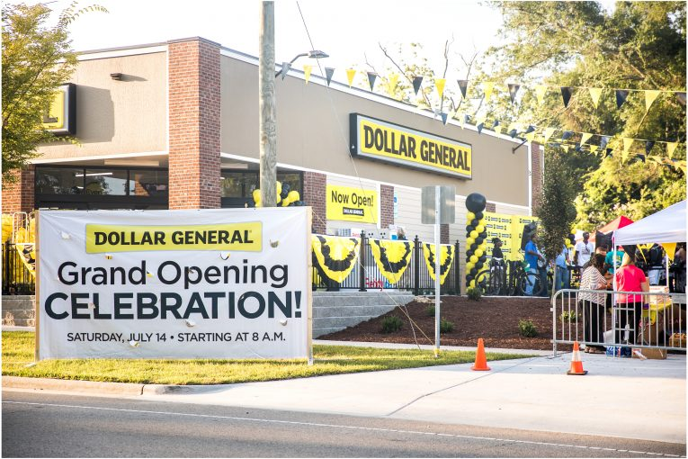 Dollar General's 15,000th store opening