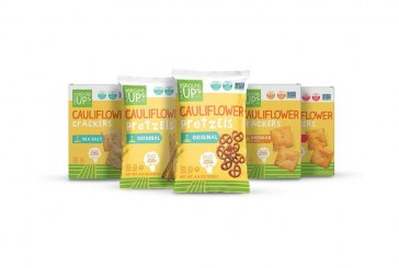 Cauliflower-Based Crackers And Pretzels Make Their Retail Debut