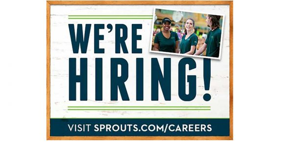Sprouts National Hiring Day poster