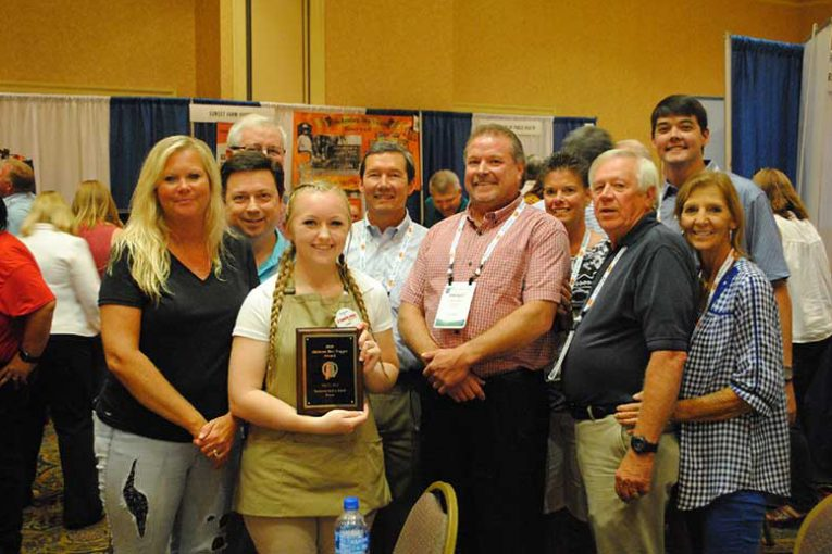 Leah Claborn with Guntersville Foodland was named Alabama's Best Bagger.