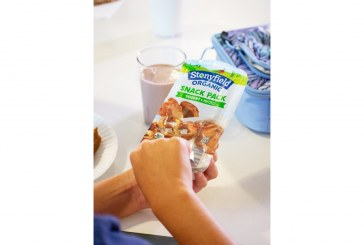 Stonyfield Organic Rolls Out Yogurt Snack Packs