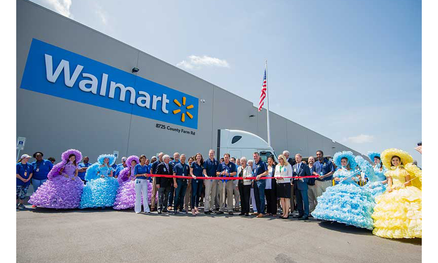 Walmart Opens New Distribution Center In Mobile Alabama