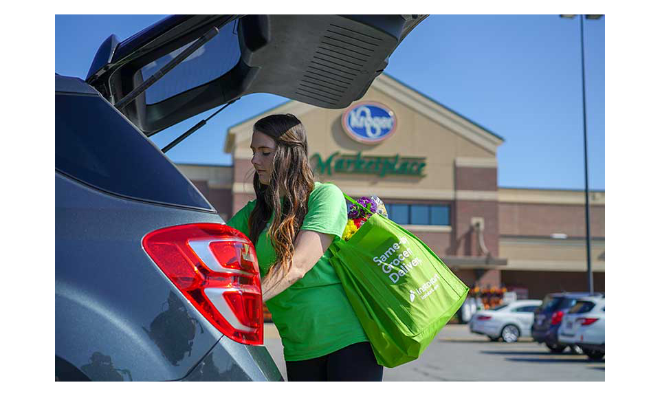 Kroger Carbondale Il >> Kroger Offering Instacart Delivery In 75 More Markets