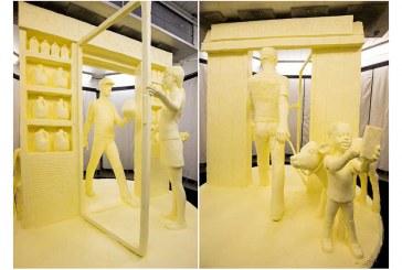 American Dairy Association, Wegmans Unveil 50th Annual Butter Sculpture