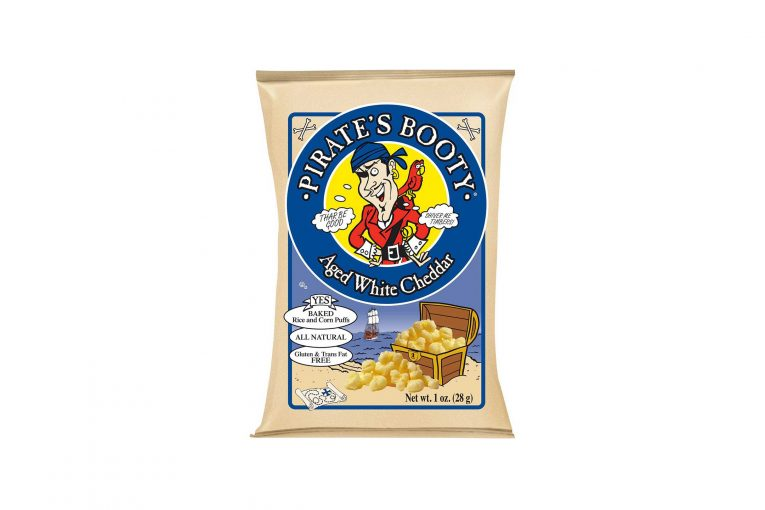 A bag of Pirate's Booty