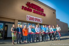 The Sowardses cut the ribbon on their Pagosa Springs store in 2015.