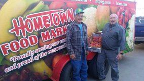Farmer Max Nolan and Ed Sowards.