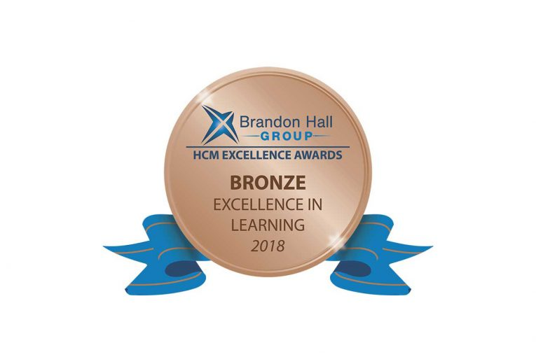 Brandon Hall Group Bronze Award for Excellence