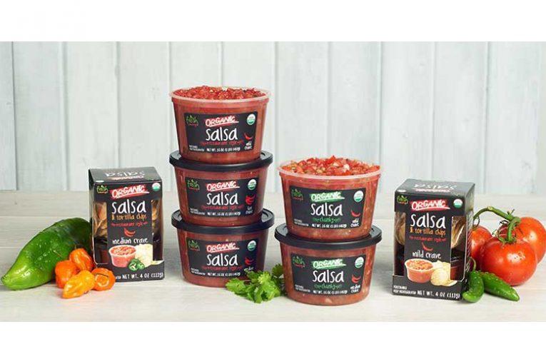 The Fresh Cravings Organic Salsa lineup