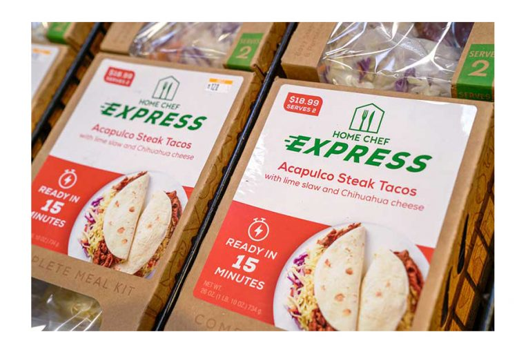 Home Chef Express meal kits
