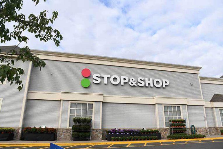 An exterior photo of a Stop & Shop.