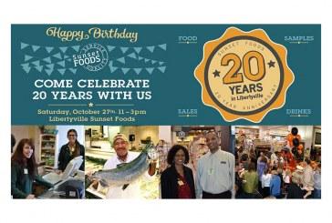 Illinois' Sunset Foods To Celebrate 20 Years Serving Libertyville Oct. 27