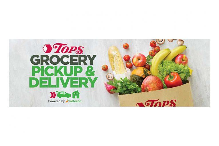 Tops online ordering marketing banner