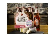 Angry Orchard Hard Cider, Crown Finish Caves Create Rosé Cider Cheese