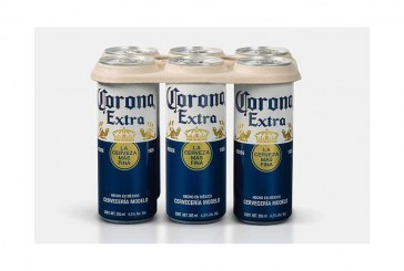 Corona To Test Plastic-Free, Biodegradable Six-Pack Rings
