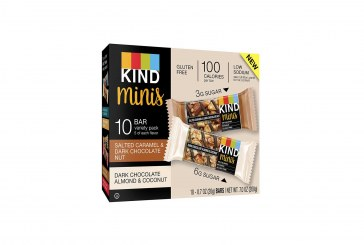 Kind Healthy Snacks Introduces Low-Calorie Miniature Bars