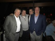 Bob Miller with his sons: Barry Miller, Mark Miller and Rob Miller.