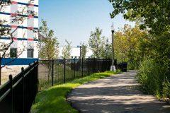 Banner Wholesale built a riverwalk along the Chicago River.