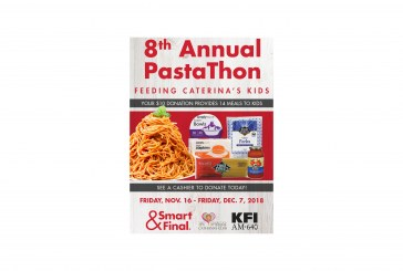 Smart & Final Launches In-Store Donation Program To Collect Food And Raise Money For The 8th Annual PastaThon