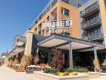 Bridge Street Market in Grand Rapids, Michigan, opened in August.