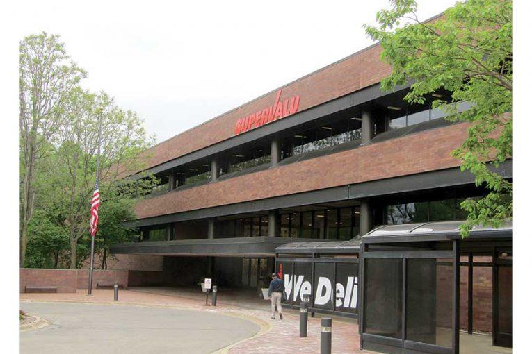 The exterior of a Supervalu building