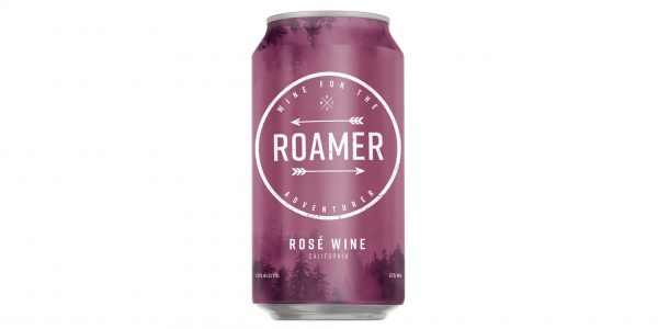 Roamer Rose canned wine
