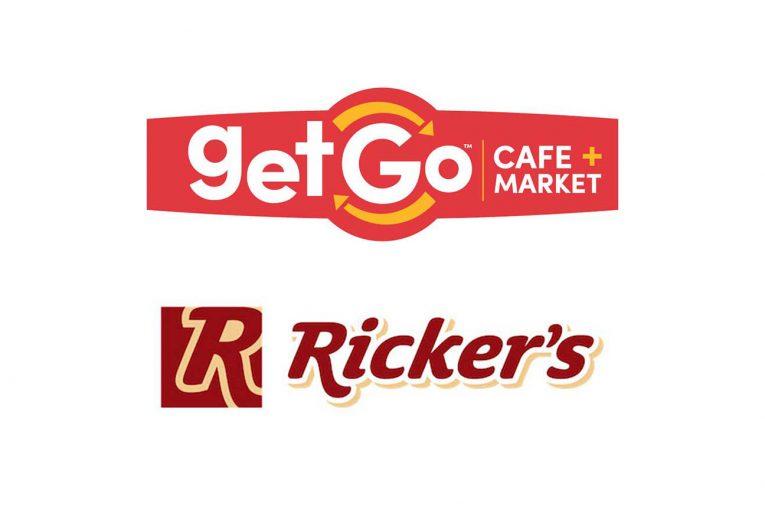 GetGo and Ricker's logos
