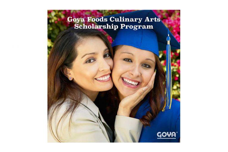 Goya scholarship promotional poster