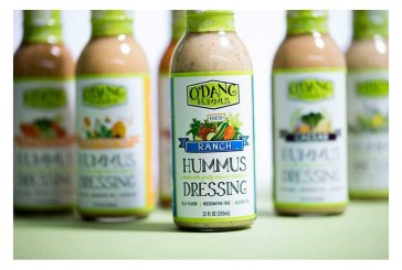 O'Dang Hummus Dressing Expands Retail Presence With Hy-Vee