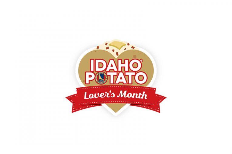 Idaho Potato Lovers Month logo