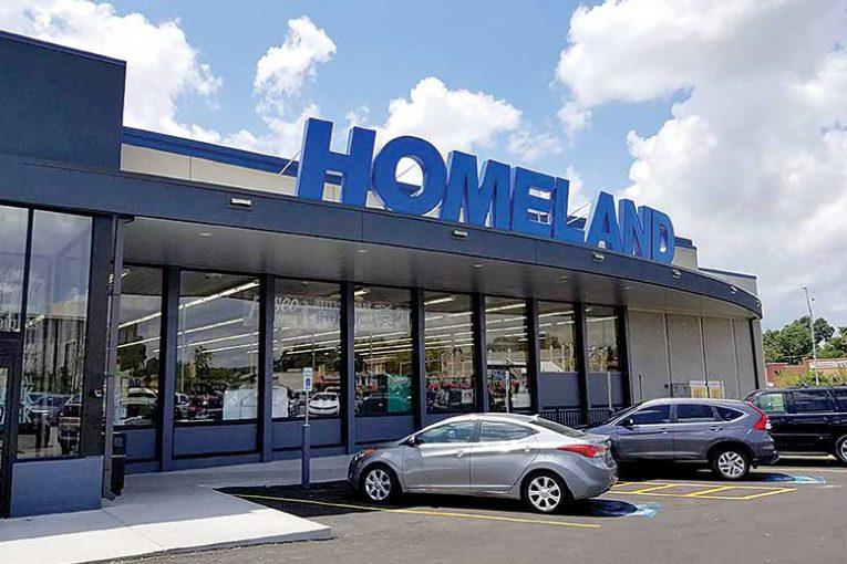 A Homeland storefront