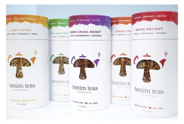 Tamim Teas Offers Mushroom Tea Blends In Eco-Friendly Canisters