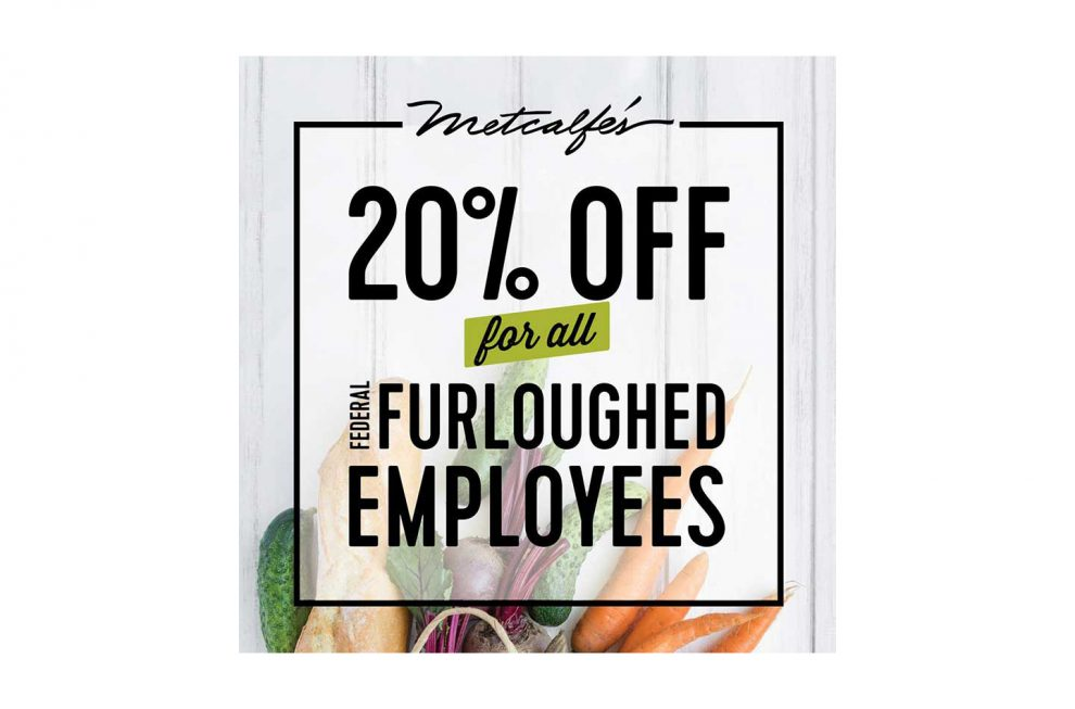 78e282e017 Metcalfe s Extends Employee Discount To Furloughed Federal Workers