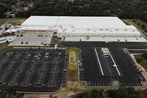 McLane Co.'s new grocery distribution center in Ocala, Florida.