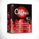 Chloe's strawberry dipped pops
