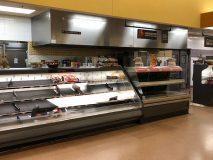Stop & Shop empty deli counter