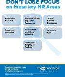 HR Benefits key areas