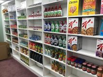 Big Oak General Store shelves
