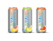 The Alkaline Water Co. CBD-infused canned line